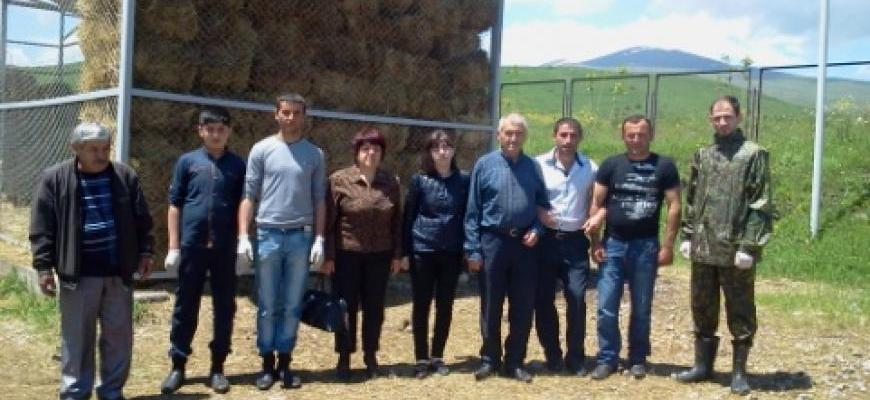 Trainings in Syunik Animal Market for future Veterinarians